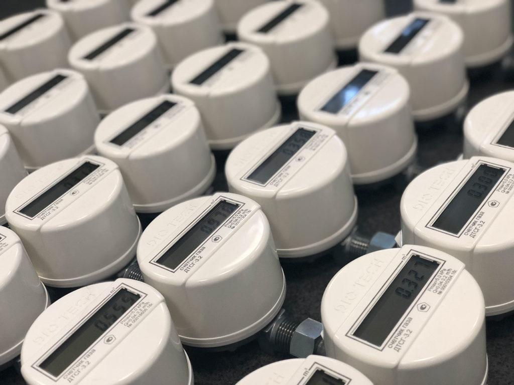 Серийный запуск производства новых счетчиков газа DIO TECH