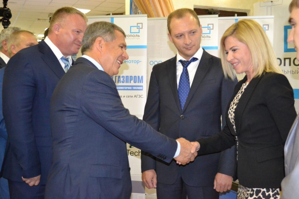 Президент РТ Рустам Минниханов пожелал удачи в производстве новых приборов учета